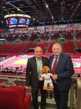 Márton Imre aBudapesten a Judo Világbajnokságon